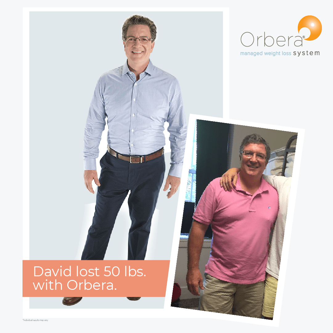 Man's amazing results from orbera gastric balloon before and after 50 lbs with help from bodymorph md in yonkers, ny.